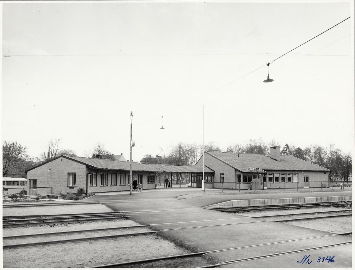 Ljungby station.