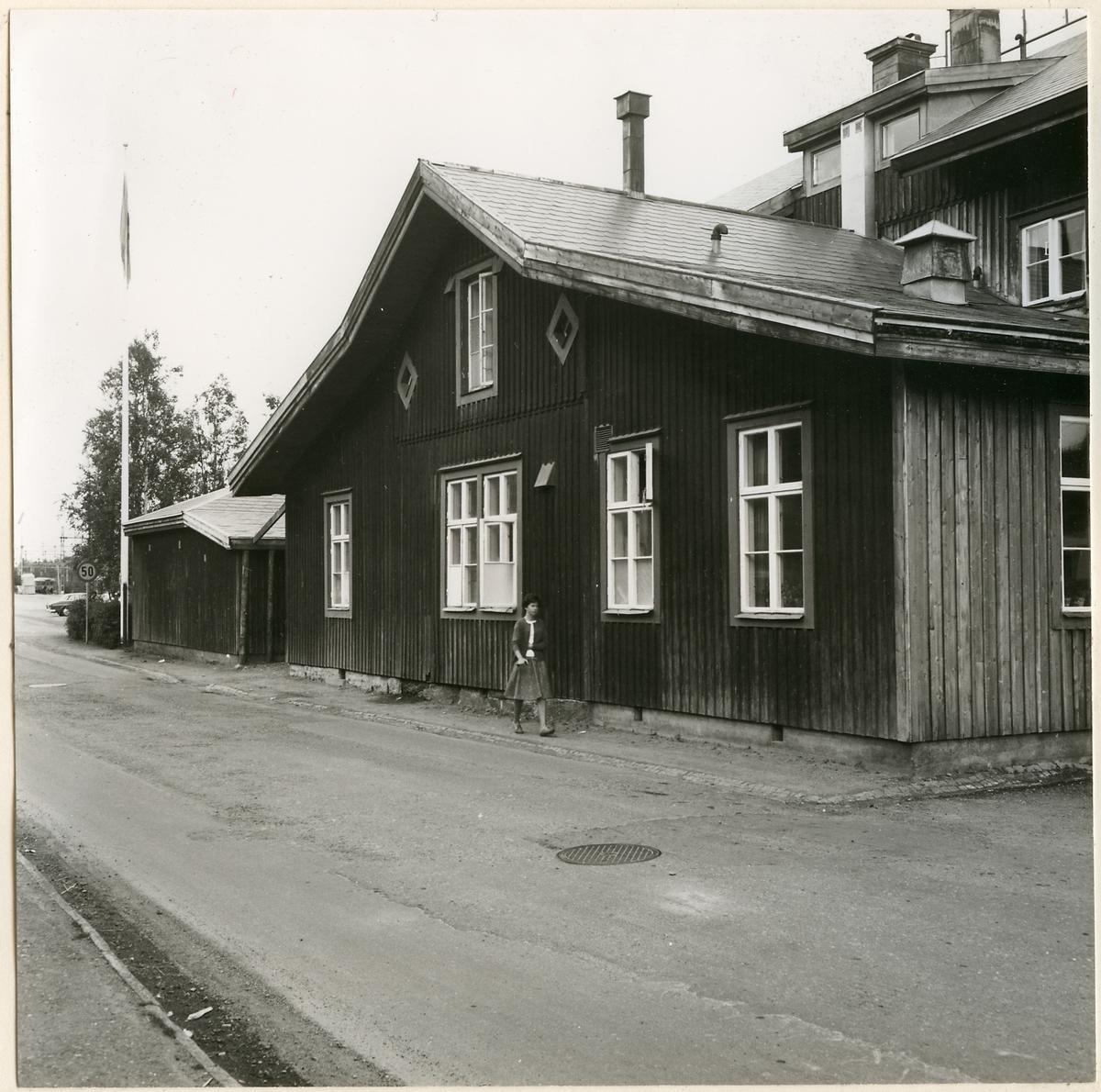 Järnvägshotellet vid Storlien station.