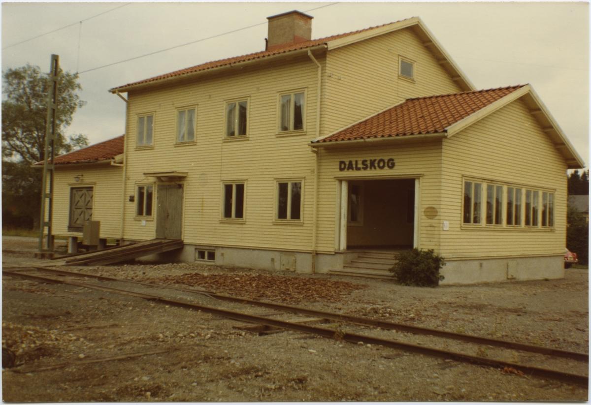 Dalskog stationshus.