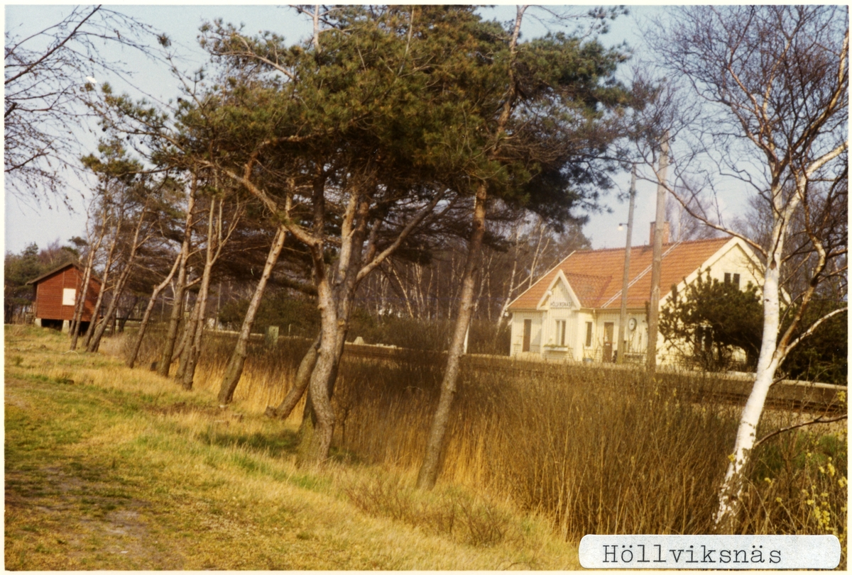 Höllviksnäs station.