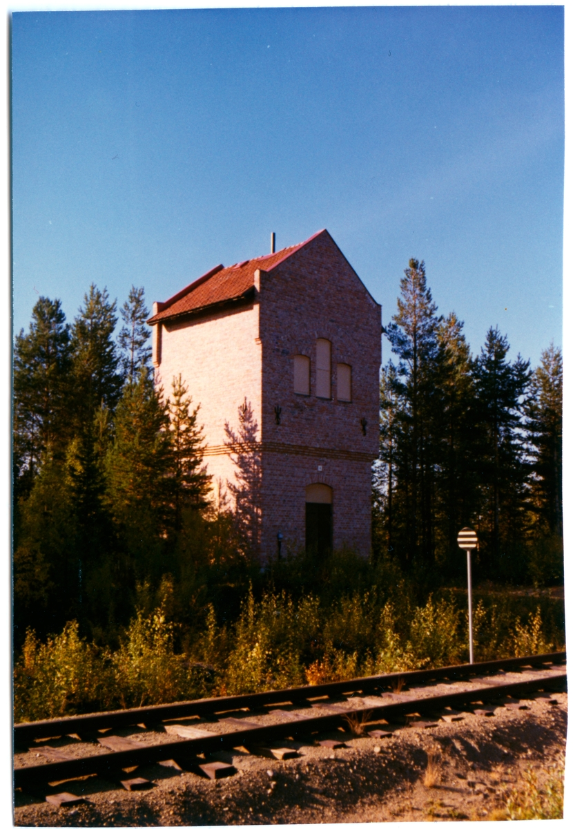 Vattentornet byggdes 1918