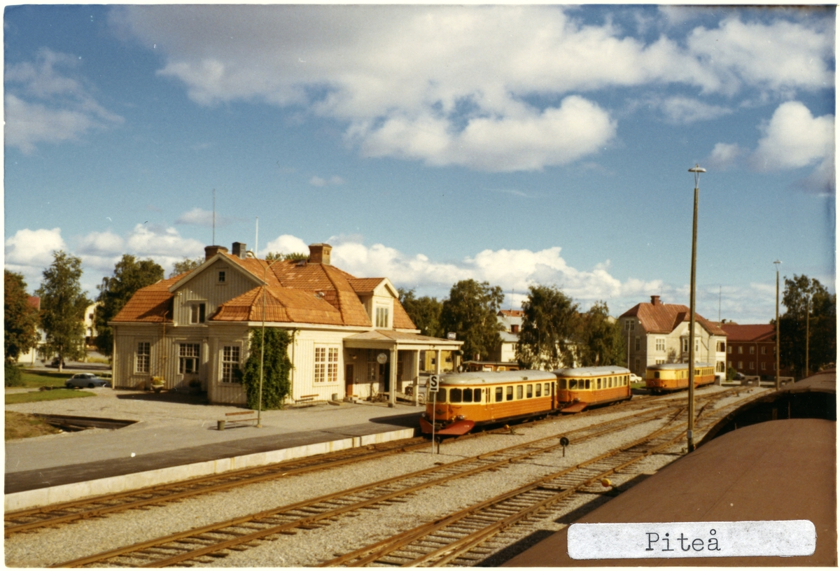 Stationshus i trä ,byggd 1914.