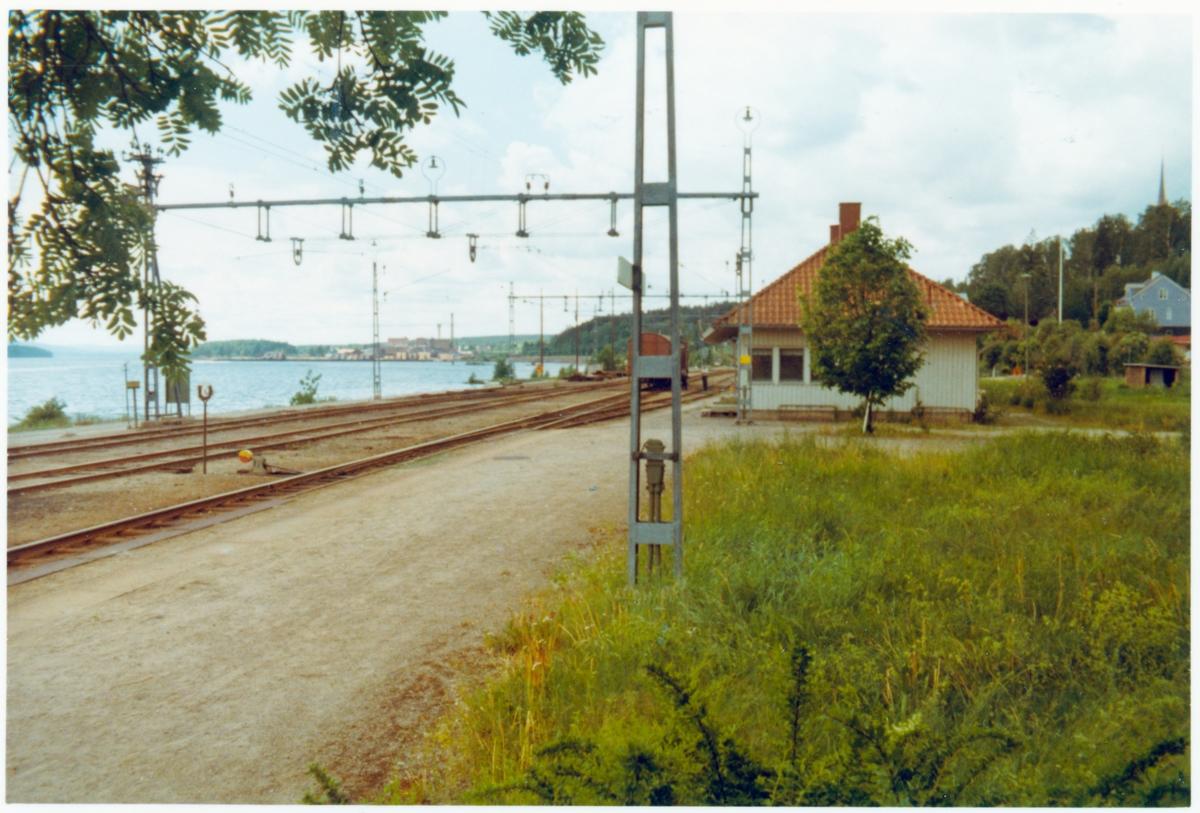 Bergvik station omkring år 1970.