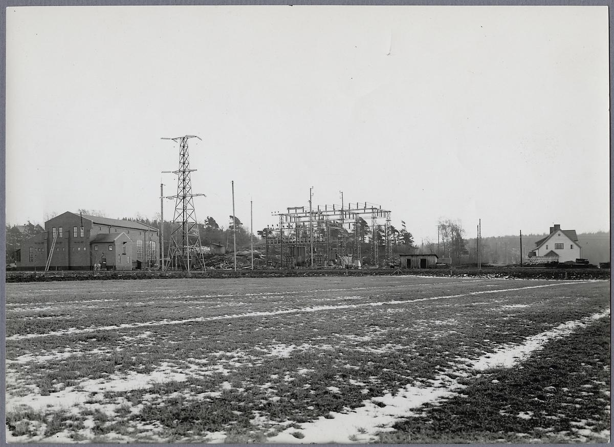 Transformatorstation vid Alingsås.