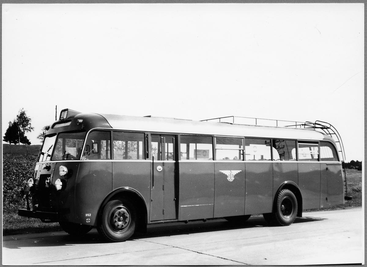 Trafikförvaltningen Göteborg - Dalarne - Gävle, GDG buss 352. Volvo Buss.