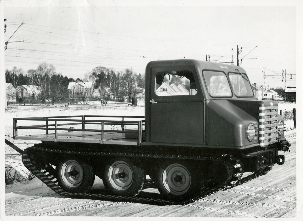 Ett av AB Nord-Verk´s terrängfordon utvecklat för norra Sverige under 1950-talet.