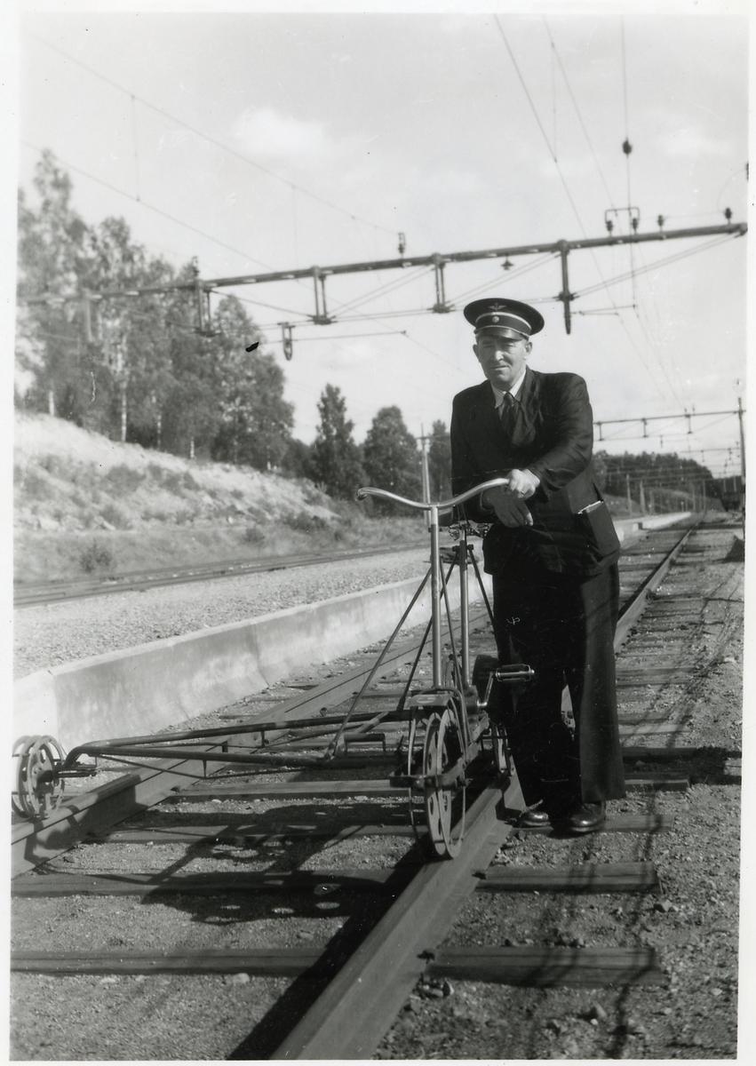 Överbanmästare Dahlström i Falun.