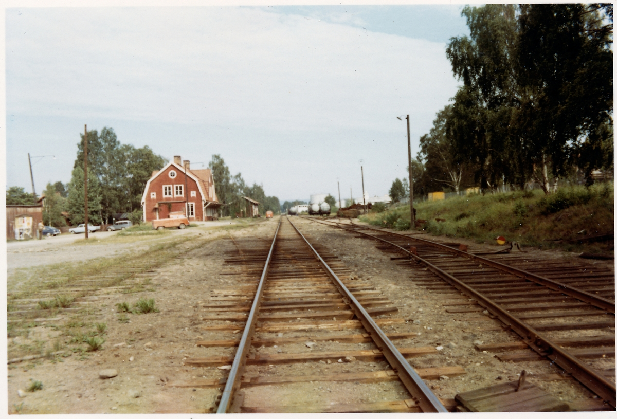 Falun norra station.