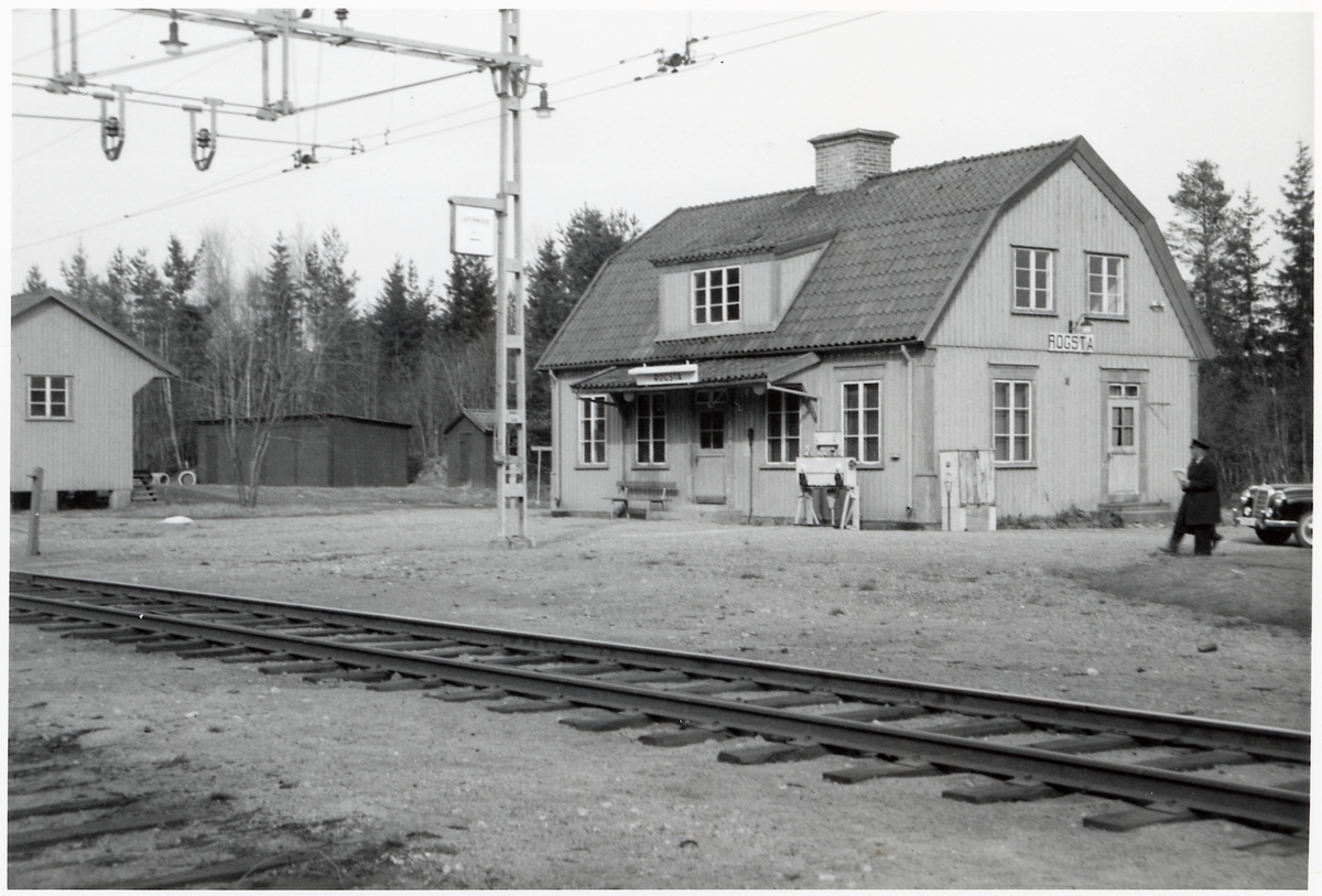 Rogsta station.