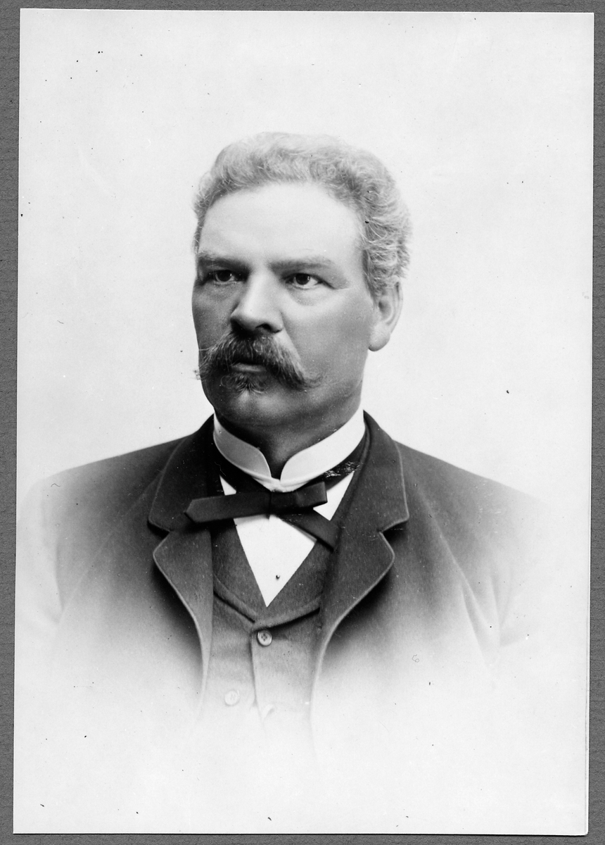 Ingenjör Gustaf Ahlgren.