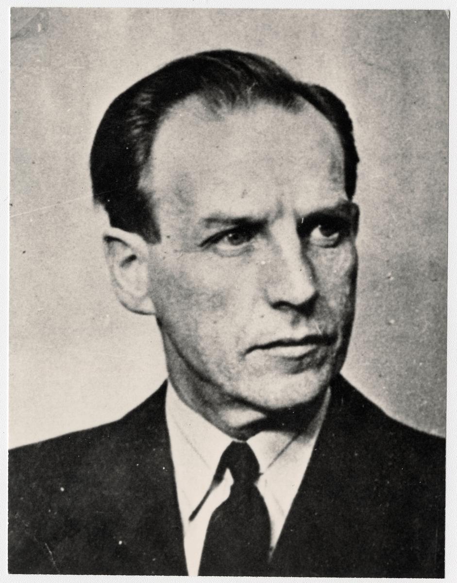 Riksdagsman och Chefredaktör Frans Severin.