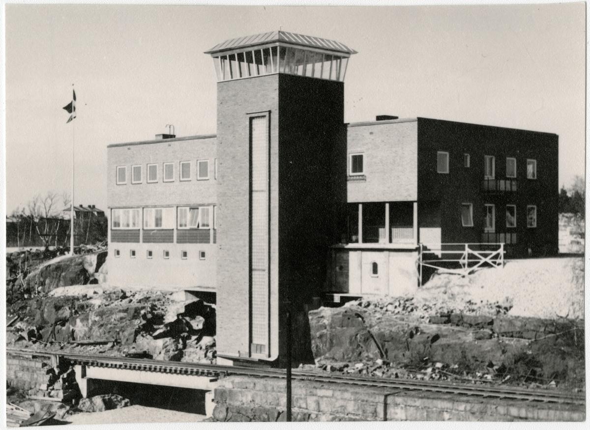 Invigning av stuvargården i Oxelösund.