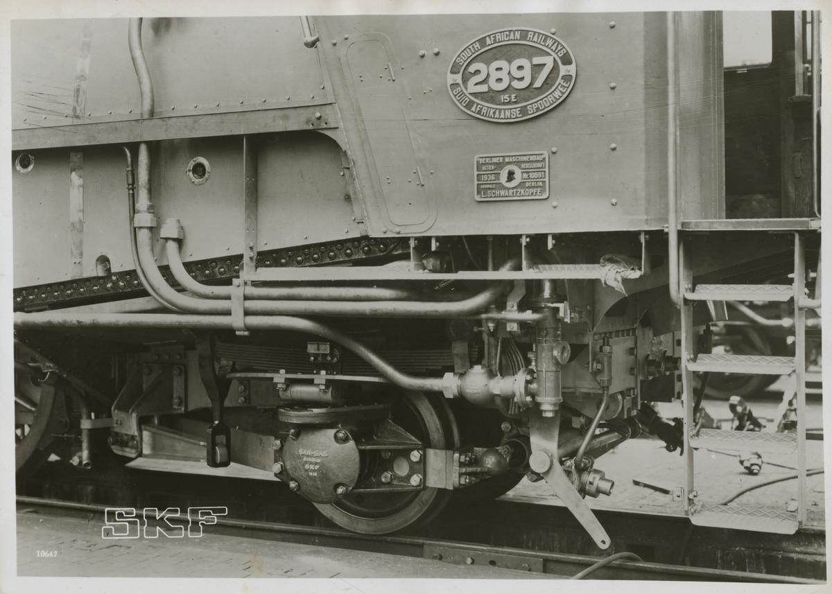 South African Railways, SAR 15E 2897.