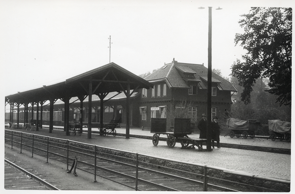 Stationshuset i Alvesta.