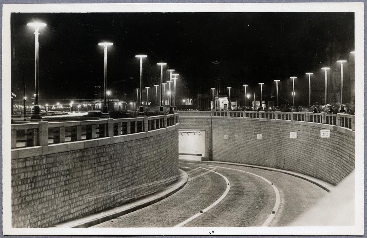 Tunnel i Anvers - Antwerpen.