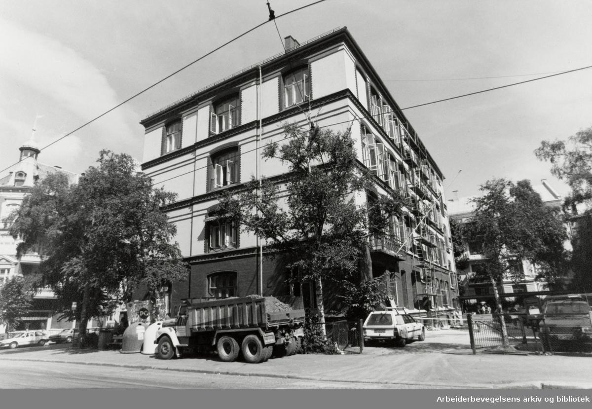 Elisenberg videregående skole. August 1991