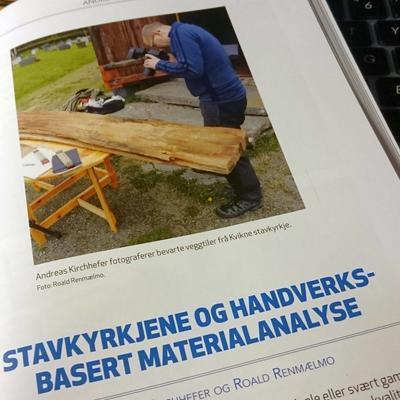 Andreas Kirchefer, handverksanalyse og materialanalyse