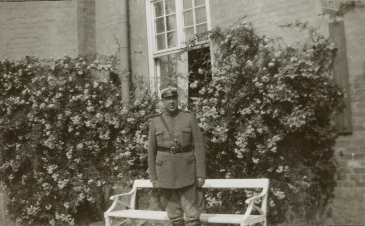 Kapten från Södermanlands regementets I 10.
