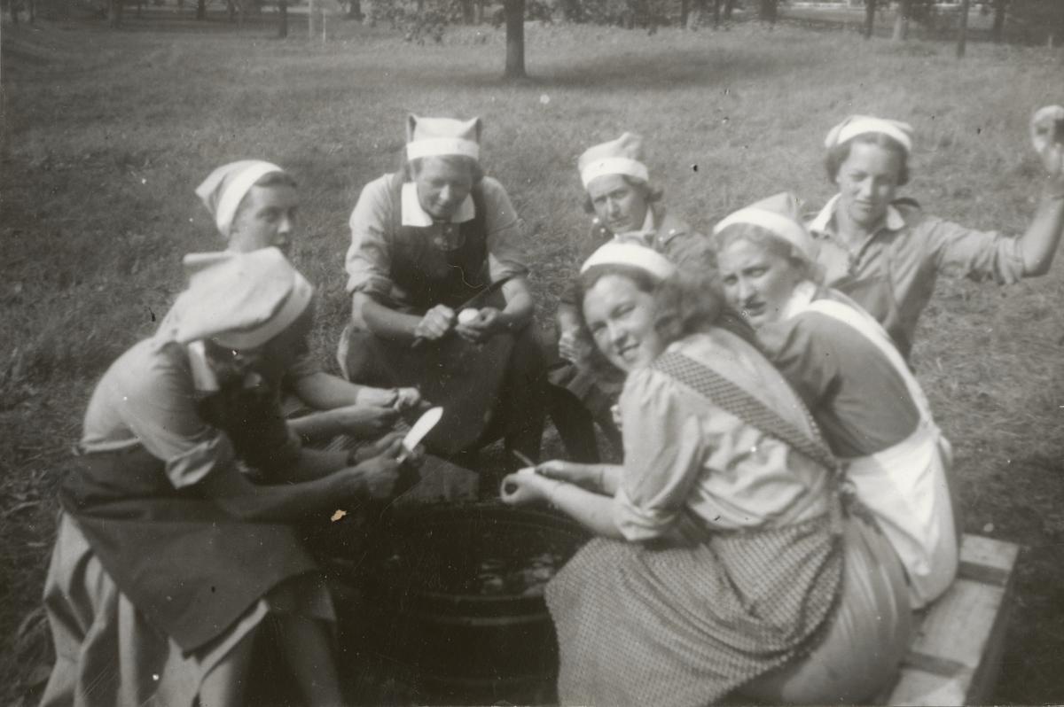 Lottornas Norsholmskurs, juli 1940.