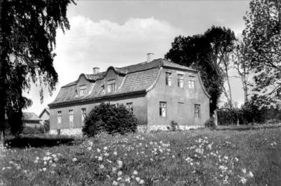 Kubberød gård på Jeløy i Moss. Usikkert når bildet er fra.