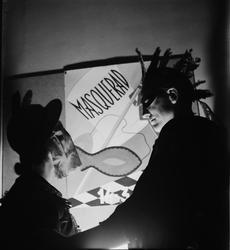 Maskerad på Östgöta nation, Uppsala, sannolikt 1946-1949