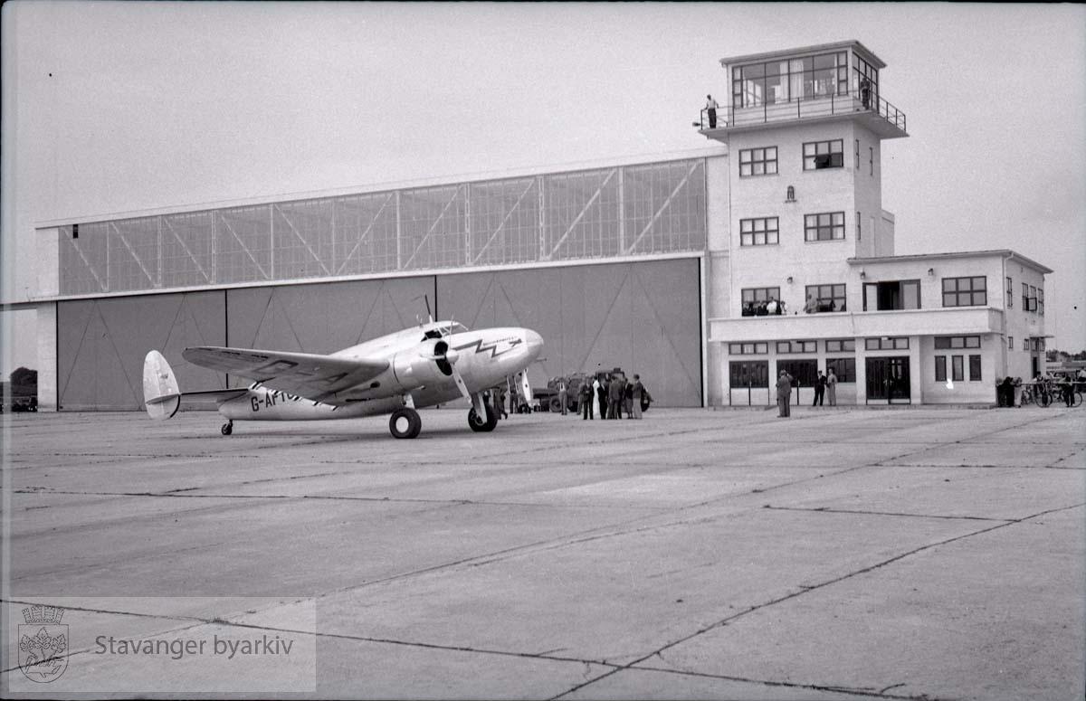 Britiske fly til Sola flyplass i 1939
