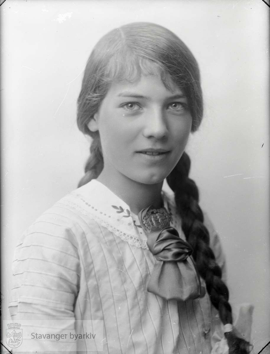 Portrett av jente