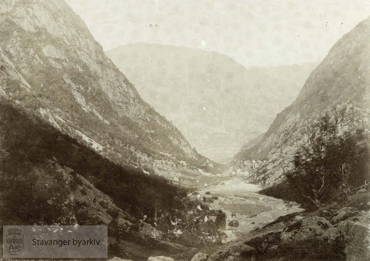 Utsikt fra Buarbreen