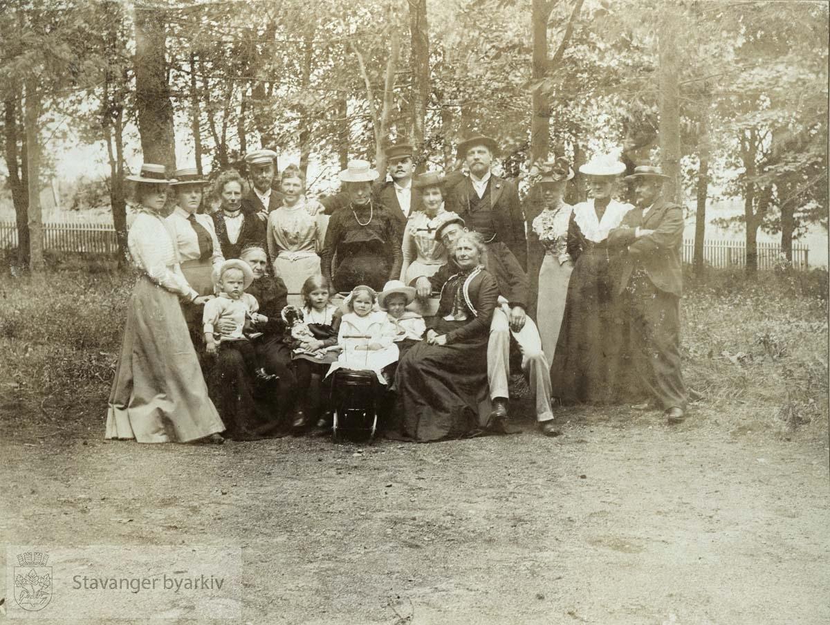 Familiebilde på Holme Egenes