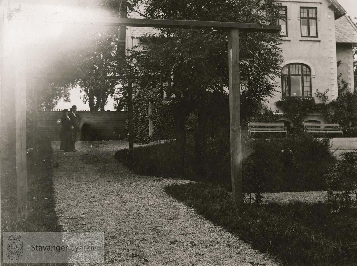 Sommeren 1919..Huset er tegnet av Karl Kielland.