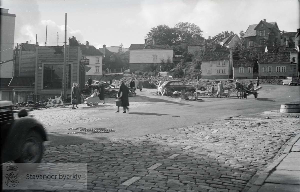 Olavskleiva saneres. Haakon VIIs gate.