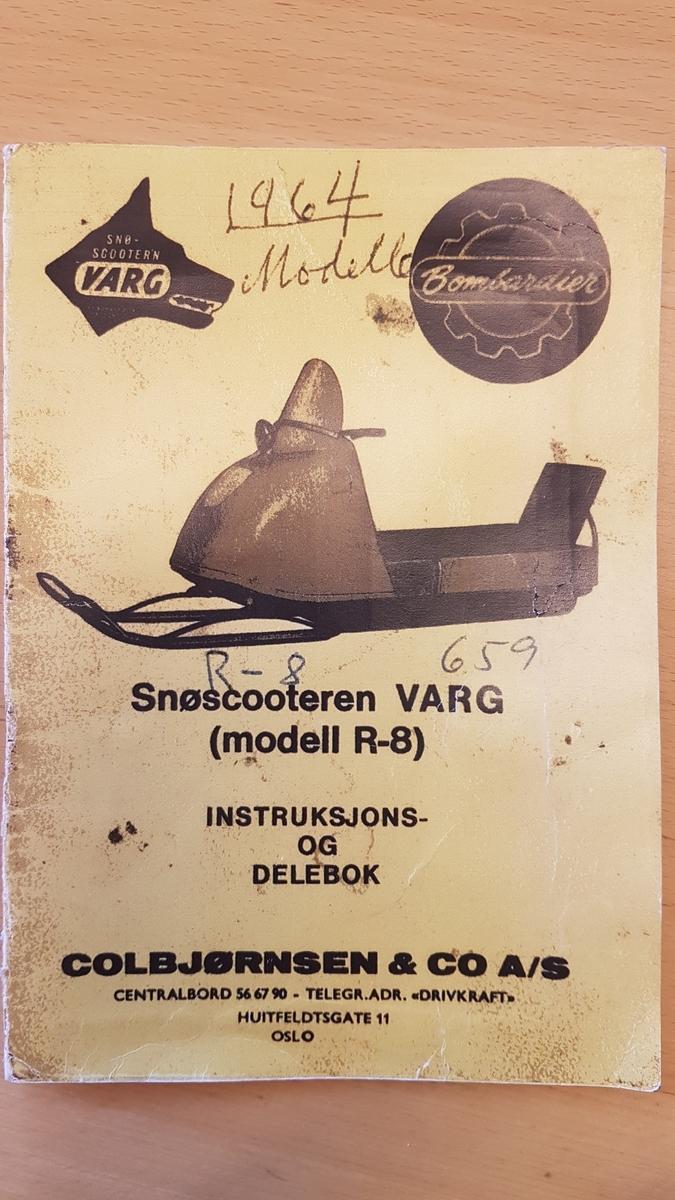 Varg R-8, registreringsår 1964.