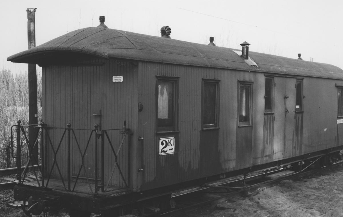 Personvogn CFo 5 på Bingsfoss stasjon.