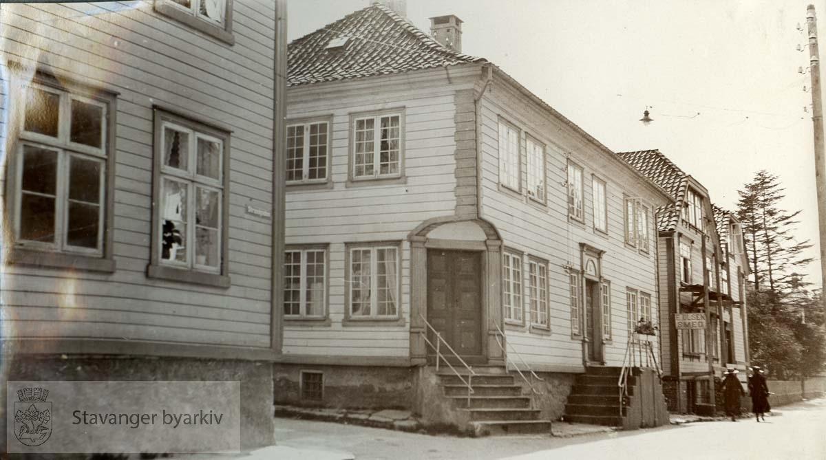 Hus og gate i Egersund