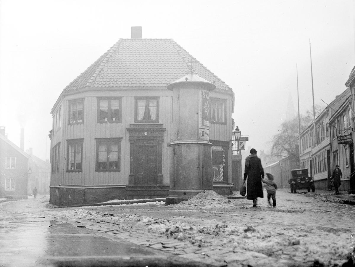 Parti fra Nedre Bakklandet