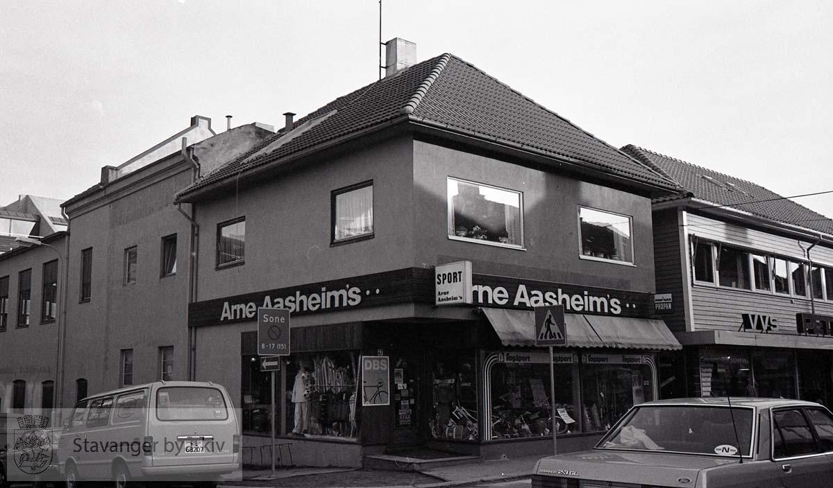 Arne Aasheims sport