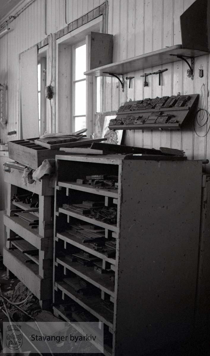 Danielsens boktrykkeri..Modellverkstedets bilder