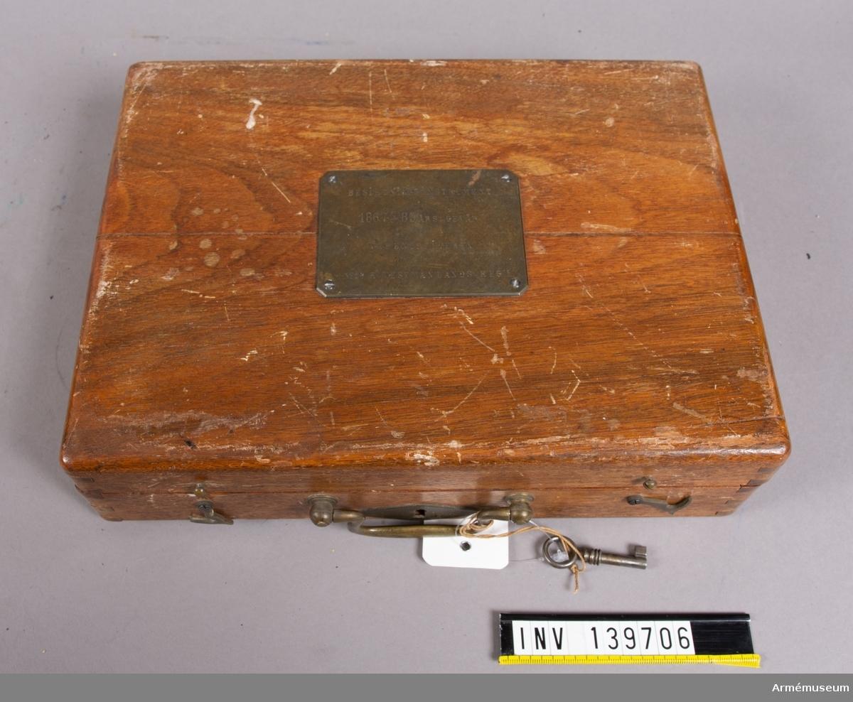 I låda. 1893.