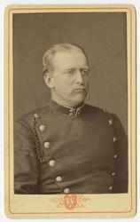 Porträtt av Per Axel Rönquist, löjtnant vid Livregementets g