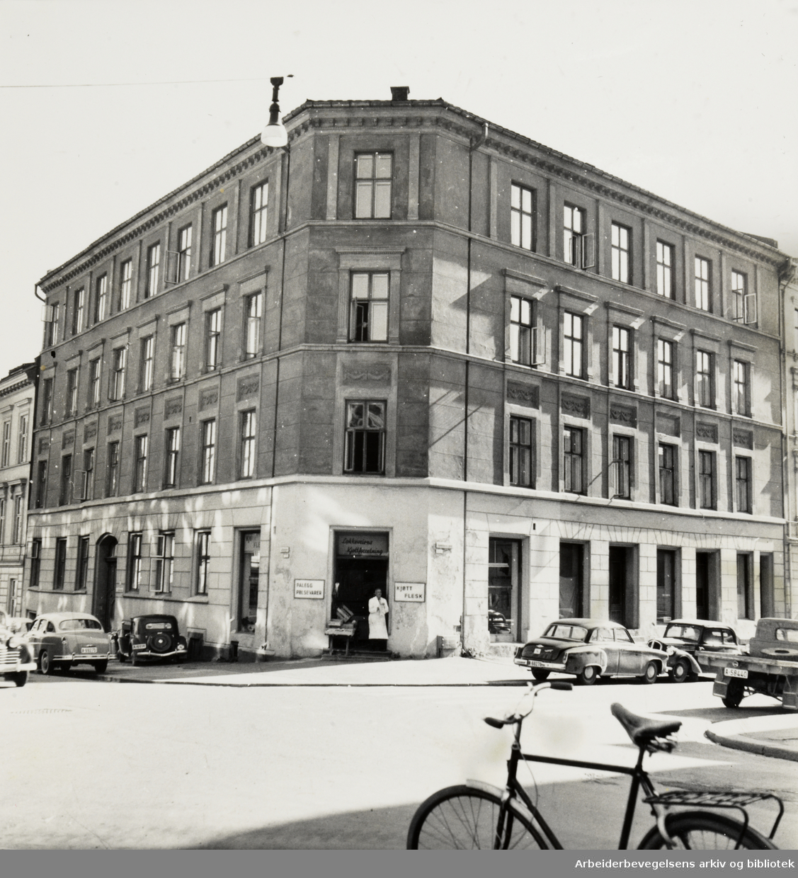 Grimeland skole. September 1957