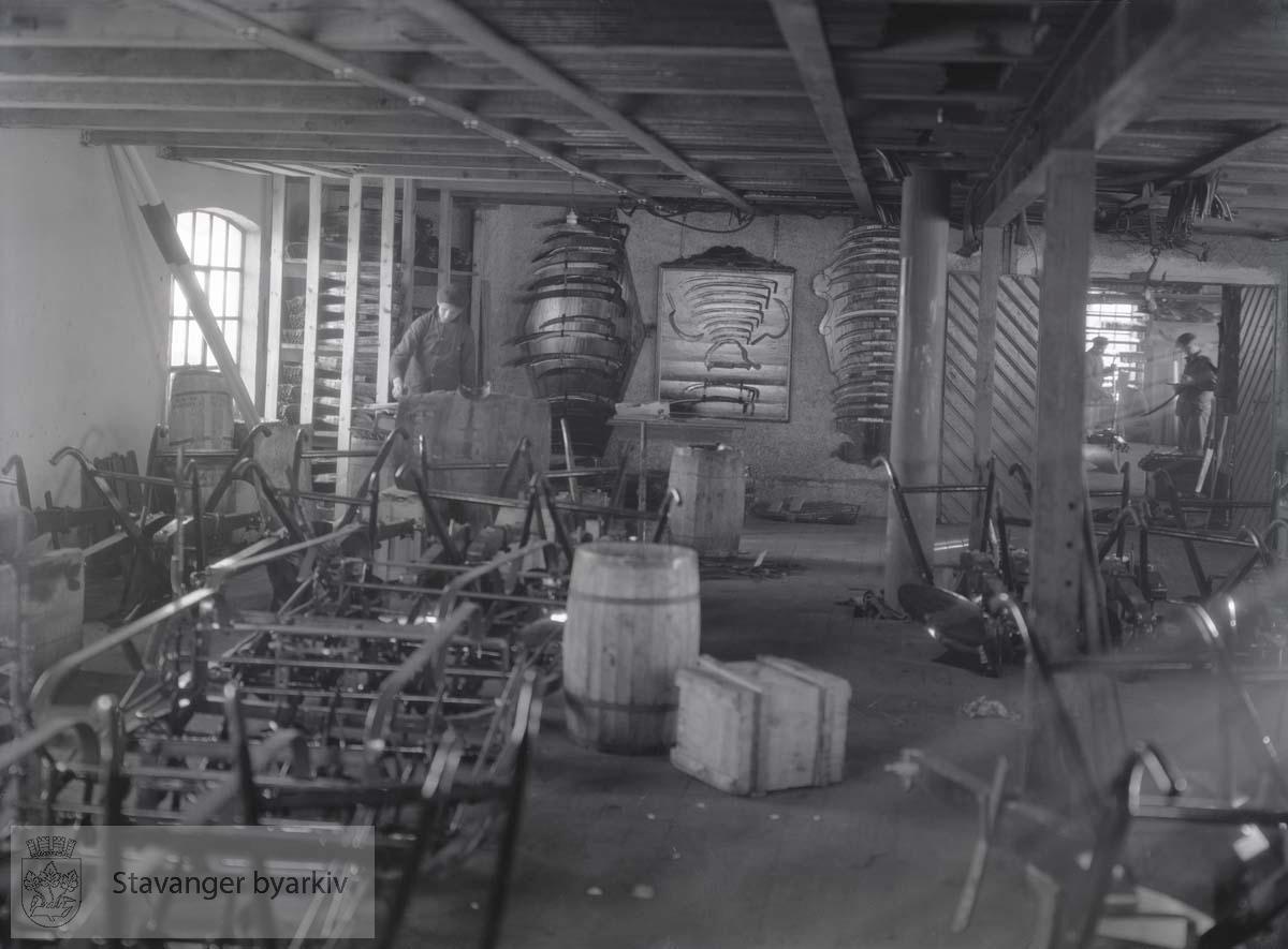 Kverneland Fabrikk A/S. Interiør