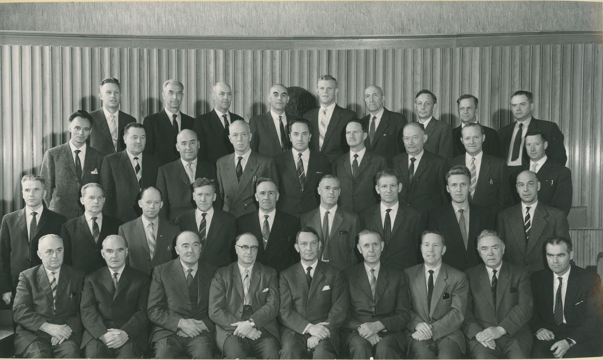 Uttrøndelag politikammers møte med lensmennene 14. og 15. mai 1962