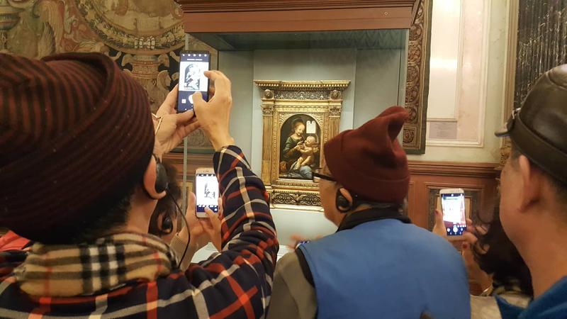 Benois Madonna, Hermitage, St.Petersburg, Dec 06, 2018     Image: Ina Hildebrandt