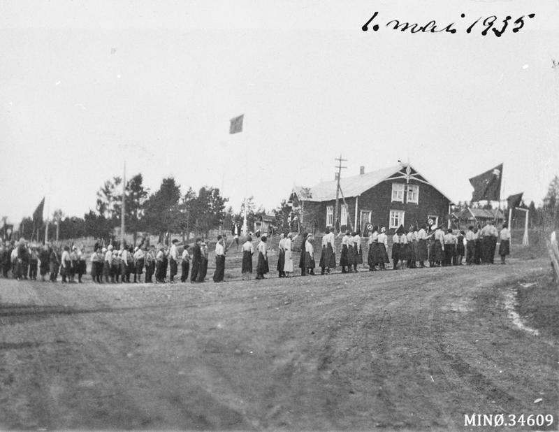1. mai 1935 Folldal