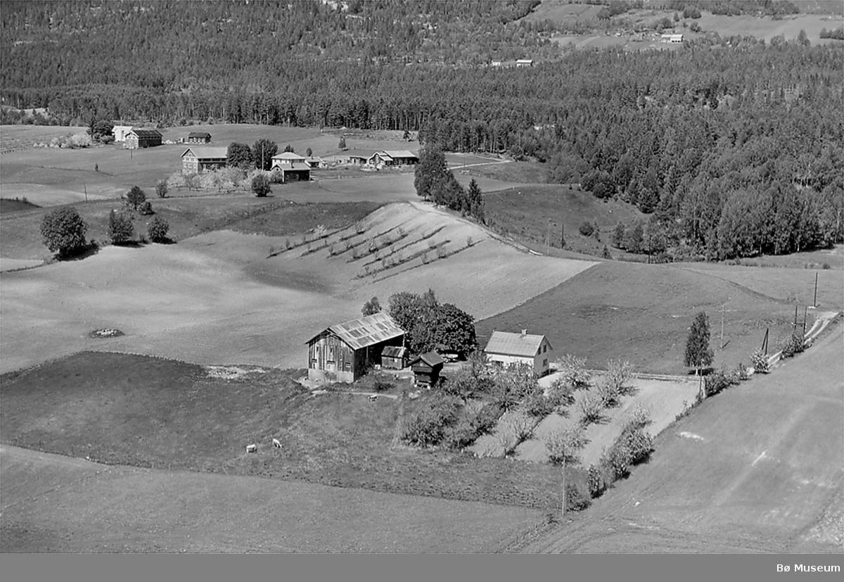Flyfoto av Brenne og Tollehaugen