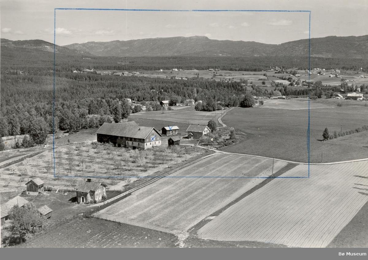 Flyfoto av Store-Fossheim