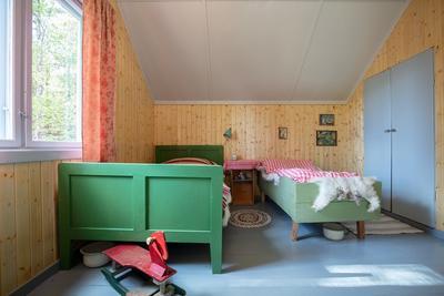 Soverom i bolighuset fra Olderfjord (Foto/Photo)