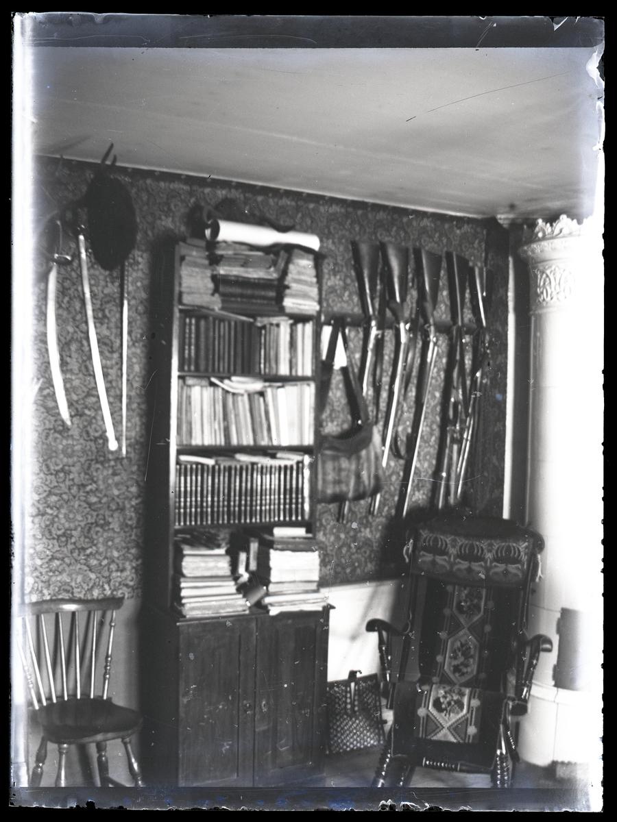 Heminteriör hos familjen Müntzing, Riddarhyttan.