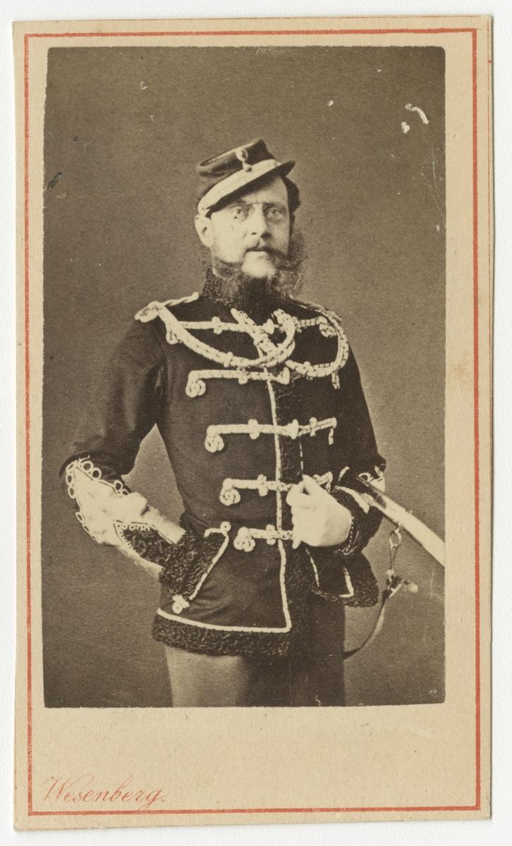 Porträtt av okänd rysk officer.