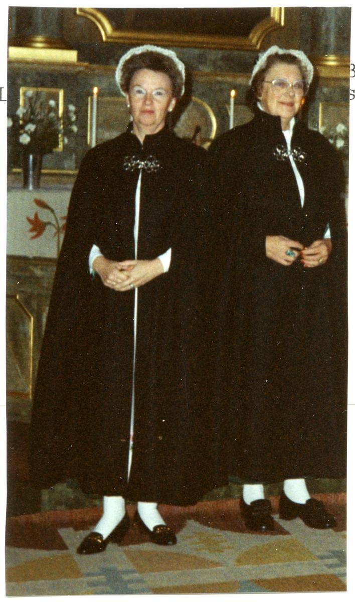 Irsta sn, Irsta kyrka. Ytterplagg till Irsta sockendräkt, 1989.